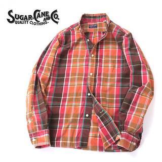 Sugar Cane - USA製 SUGAR CANE 東洋シュガーケーン マルチチェックシャツ