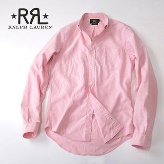 ラルフローレン(Ralph Lauren)のRRL ラルフローレン シワ加工◎コットンオックスフォードシャツ(シャツ)