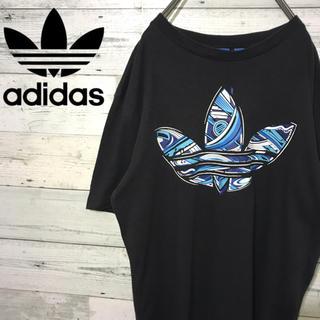 アディダス(adidas)の【レア】アディダスオリジナルス☆ビッグロゴ トレフォイル アート Tシャツ(Tシャツ/カットソー(半袖/袖なし))