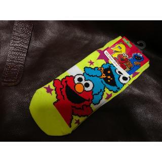 SESAME STREET - セサミストリート エルモ&クッキーモンスター 靴下