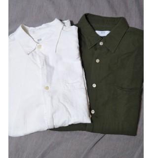 ユニクロ シャツ 2枚セットで!