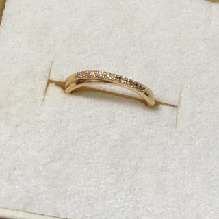 ヨンドシー(4℃)の4°C K18 ダイヤモンド リング 8号 ✨ 18金(リング(指輪))