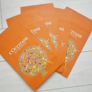 ロクシタン(L'OCCITANE)の5点セット ロクシタン新品プレゼント ギフト用ショップ袋 追加可能 大量 在庫有(ショップ袋)