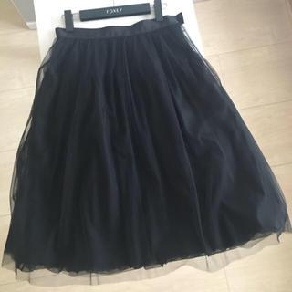 ルネ(René)の♡極美品♡ ルネ チュール スカート 38 フォクシー 好きの方にも☆(ひざ丈スカート)