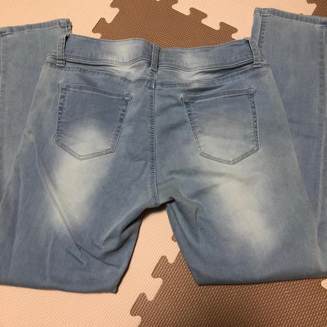 しまむら(シマムラ)のしまむら  涼やかスキニーデニム淡青  67 レディースのパンツ(スキニーパンツ)の商品写真