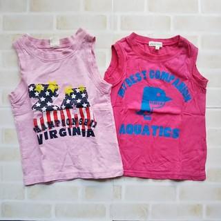 サンカンシオン(3can4on)のTシャツ ノースリーブ 100㎝(Tシャツ/カットソー)