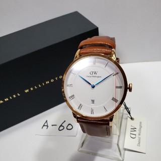 ダニエルウェリントン(Daniel Wellington)のA-60新品38mm❤ダニエルウェリントン♥メンズ(白)♥激安価格♥送料無料❤(腕時計(アナログ))
