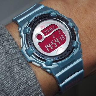 ベビージー(Baby-G)のbaby-G/BG-3000X/限定/IN4MATION/ブルーメタリック/別注(腕時計)