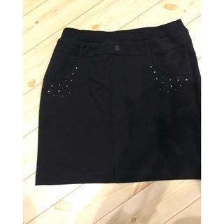 ジーユー(GU)のGU☆黒スカート☆150(スカート)