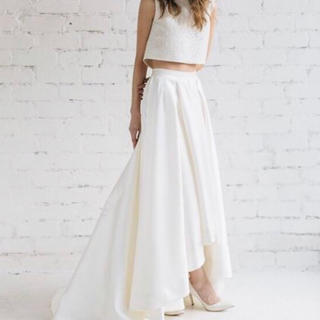 セパレートドレス フィッシュテール ウエディング(ウェディングドレス)