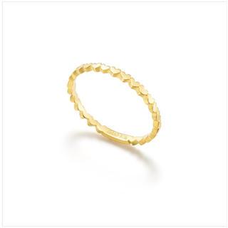 アーカー(AHKAH)のAHKAH アンハートエタニティリング 3号(リング(指輪))