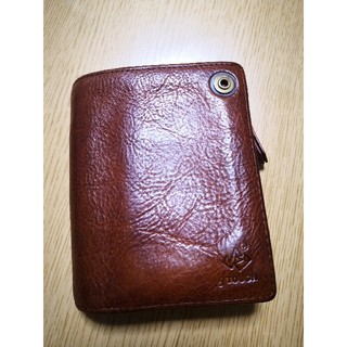 タフ(TOUGH)のtough 茶色(折り財布)