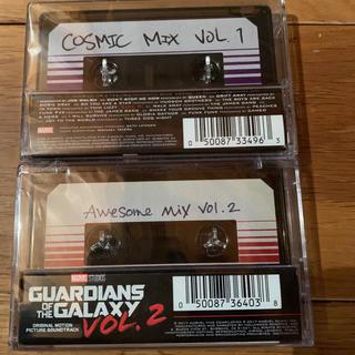 ガーディアンズオブギャラクシー カセットテープ vol1&2セット(映画音楽)