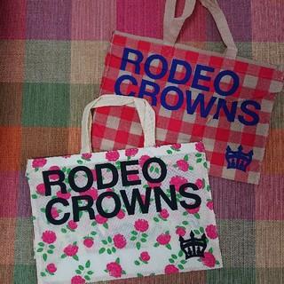 ロデオクラウンズ(RODEO CROWNS)のrodeocrowos ショッパー (ショップ袋)