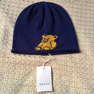 グッチ(Gucci)のGUCCI 子供用ニット帽  大人もOKです。 最終価格(帽子)