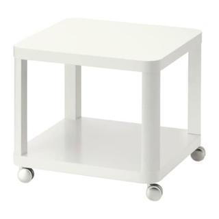 イケア(IKEA)のTINGBY ソファサイドテーブル ホワイト(コーヒーテーブル/サイドテーブル)