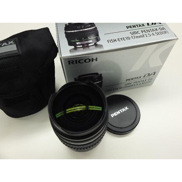 PENTAX(ペンタックス)のSMC PENTAX 10-17mm F3.5-4.5 フィッシュアイ スマホ/家電/カメラのカメラ(レンズ(ズーム))の商品写真