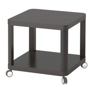 イケア(IKEA)のTINGBY ソファサイドテーブル グレー(コーヒーテーブル/サイドテーブル)