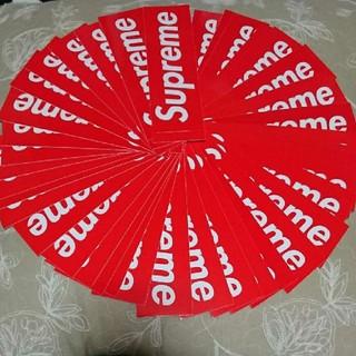 Supreme - Supreme box logo シュプリーム ステッカー Sticker 赤