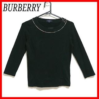 BURBERRY - ☆美品☆BURBERRY LONDON カットソー  七分丈 ノバチェック 1