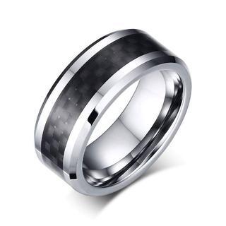 アクセサリー タングステン メンズ リング (リング(指輪))