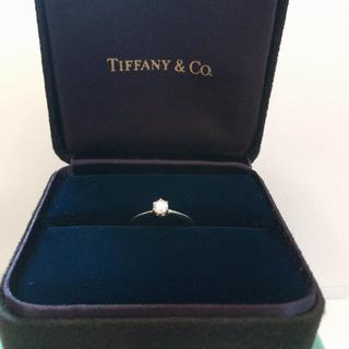 ティファニー(Tiffany & Co.)のTIFFANY&Co. ダイヤモンドリング(リング(指輪))