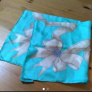 ティファニー(Tiffany & Co.)のティファニー スカーフ 新品 お値下げしました!(バンダナ/スカーフ)