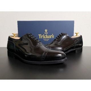 トリッカーズ(Trickers)の★未使用品★Tricker's UK7 パンチドキャップトゥ(ドレス/ビジネス)