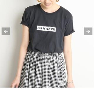 イエナスローブ(IENA SLOBE)のRXMANCE×SLOBE別注 BOX ロゴTシャツ  (Tシャツ(半袖/袖なし))