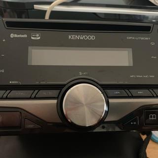 ケンウッド(KENWOOD)のKENWOOD DPX-U720BT 美品(カーオーディオ)