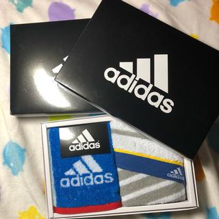 adidas - ハンドタオル 2枚 新品 adidas
