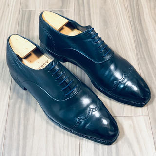 オーベルシー(AUBERCY)の【AUBERCY オーベルシー 】革靴 純正シューキーパー付き 27.5cm相当(ドレス/ビジネス)
