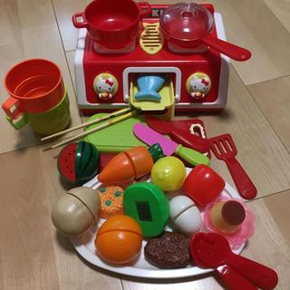 ハローキティ(ハローキティ)のままごと🧒🏻キティーちゃん💕(知育玩具)