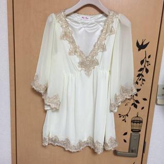バイバイ(ByeBye)のシフォン チュニック(Tシャツ(半袖/袖なし))