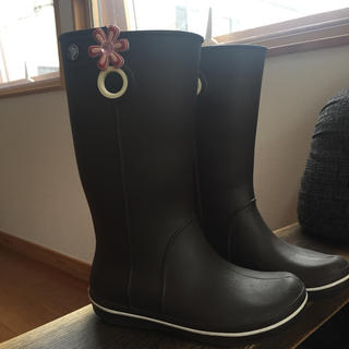 クロックス(crocs)のクロックス レインブーツ W4(長靴/レインシューズ)