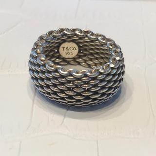 ティファニー(Tiffany & Co.)の美品ティファニー  サマーリング(リング(指輪))