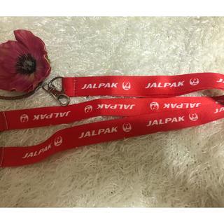 ジャル(ニホンコウクウ)(JAL(日本航空))の❤️JAL   ネックストラップ   新品  送料無料(ネックストラップ)