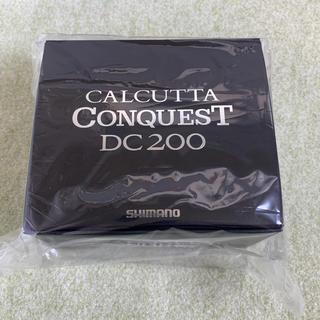 コンクエスト(CONQUEST)のシマノ リール '19 カルカッタコンクエスト DC 200(リール)