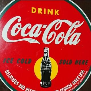 コカコーラ(コカ・コーラ)のCoca-Cola壁掛けプレート(その他)