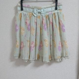 リズリサ(LIZ LISA)のLIZ LISA 花柄 スカート (ミニスカート)