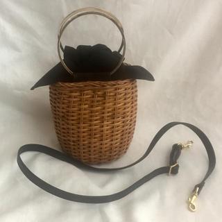 トゥモローランド(TOMORROWLAND)のVIOLAd'ORO ◆ Mini basket bag(かごバッグ/ストローバッグ)