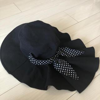 シマムラ(しまむら)の首日よけ付き帽子(ハット)