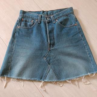 ロンハーマン(Ron Herman)のRHC★LEVISビンテージスカート(ひざ丈スカート)
