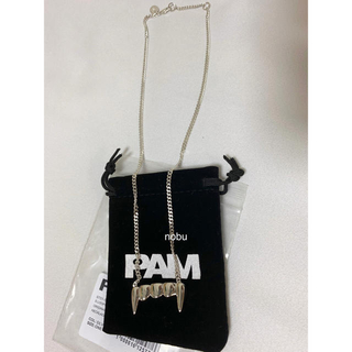 パム(P.A.M.)の新品【 P.A.M. 】ORIGINAL FANG NECKLACE パム(ネックレス)