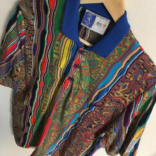 クージー(COOGI)のメンズ クージー ポロシャツ 美品(ポロシャツ)