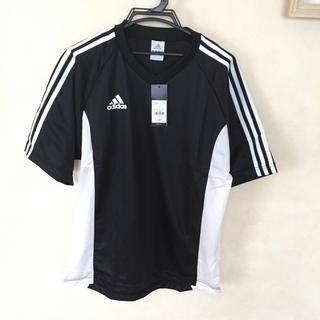 アディダス(adidas)のアディダス  Tシャツ ブラック Lサイズ 日本製(Tシャツ/カットソー(半袖/袖なし))