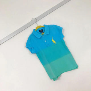 ポロラルフローレン(POLO RALPH LAUREN)の【ほぼ美品】ラルフローレン Sサイズ 120cm ポロシャツ 半袖 女の子(Tシャツ/カットソー)