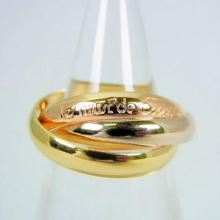 カルティエ(Cartier)のカルティエ 750 トリニティ リング 10号(50) [f23-5](リング(指輪))