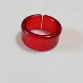 B'z 指輪 リング ロゴ入り 赤(リング(指輪))