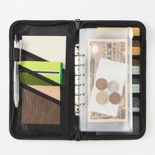 ムジルシリョウヒン(MUJI (無印良品))の無印良品 パスポートケース 黒(旅行用品)